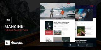 Mancink - Fishing & Angling WordPress Theme