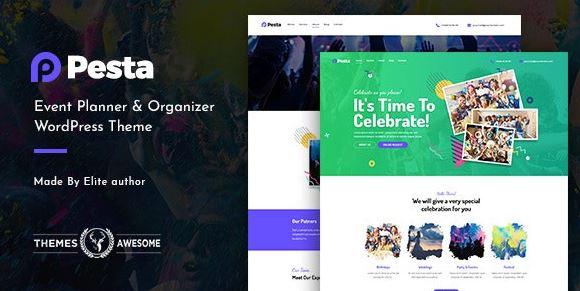 Pesta |  Event Planner and Organizer WordPress Theme