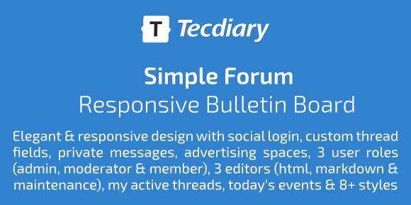 General Forum - Responsive Bulletin Board
