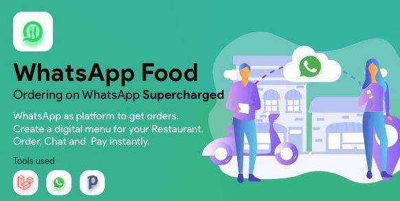 WhatsApp Food - SaaS WhatsApp Ordering