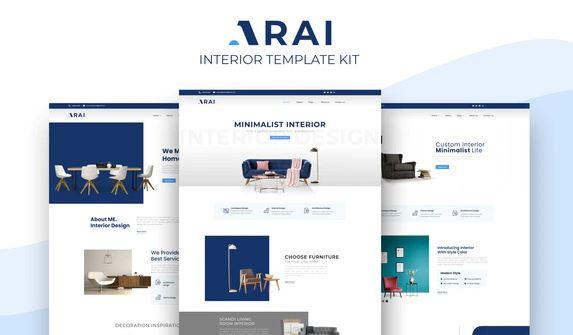 Arai   Interior & Furniture Elementor Template kit