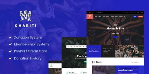 Four - Charity and Donation WordPress Themes