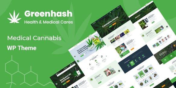 Greenhash - Medical WordPress Theme