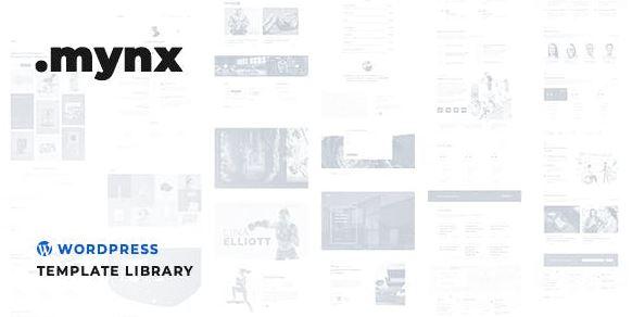 Mynx WordPress Templates Library