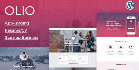 Olio - One Page WordPress Theme