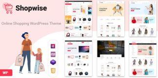 Shopwise - Fashion Store WooCommerce Theme