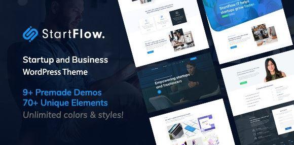 Startflow - Responsive Versatile WordPress Theme