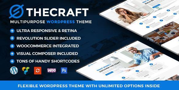TheCraft   Responsive Multipurpose Premium WordPress Theme