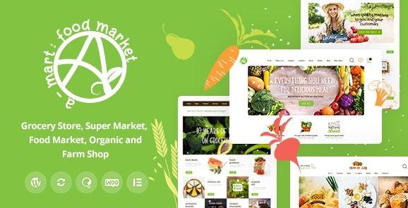 A-Mart - Organic Products Store WordPress Theme