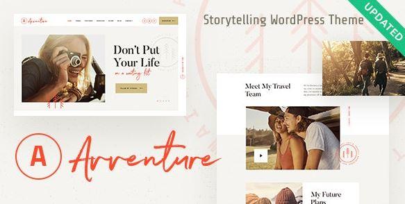 Avventure v1.1.1 | Personal Travel & Lifestyle Blog WordPress Theme