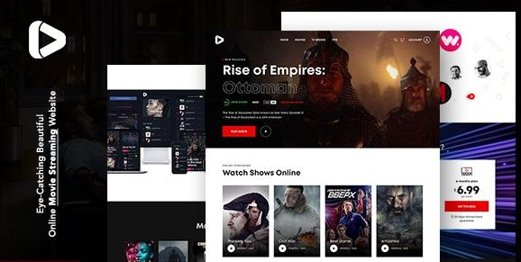 Digiflex v1.0.1 | Online Movie Streaming WordPress Theme