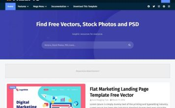 Freepic Blogger Template
