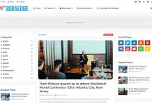 Soraedge Blogger Template