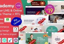 eCademy - Elementor LMS & Online Courses Theme