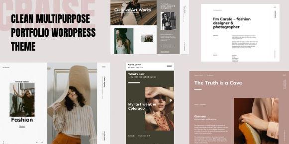 Cress - Multi-Purpose WordPress Portfolio Theme