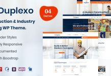 Duplexo - Construction Renovation WordPress Theme