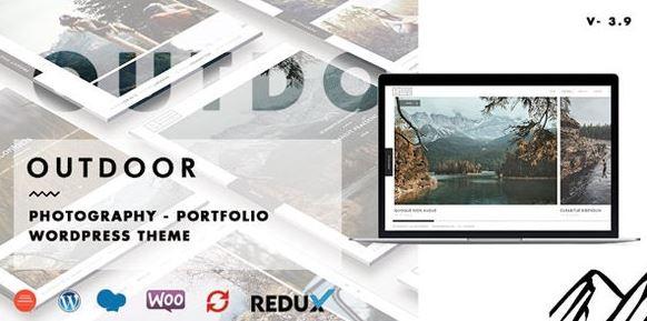Outdoor – Creative Photography / Portfolio WordPress Theme
