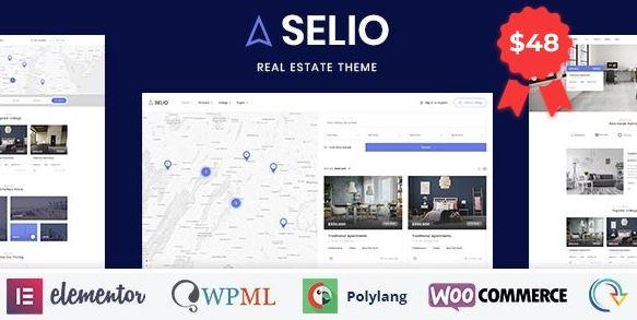 Selio – Real Estate Directory WordPress Theme