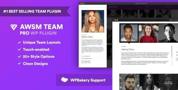 The Team Pro v1.9.1 – Team Showcase WordPress Plugin