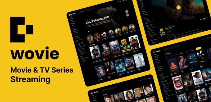 Wovie v1.0.2 – Movie and TV Series Streaming Platform