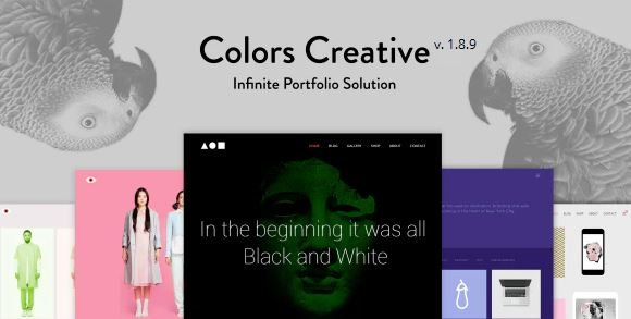Colors Creative - Portfolio for Freelancers & Agencies