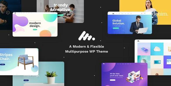 Moody - Corporate Business Agency WordPress Theme