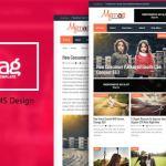 My Mag Responsive Magazine Blogger Template