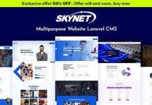 Skynet - Multipurpose Laravel CMS