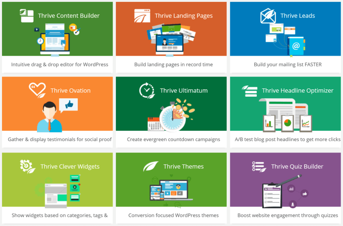 Download ALL Thrive Plugins Pack
