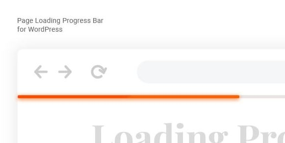 Laser - Page loading progress bar for WordPress