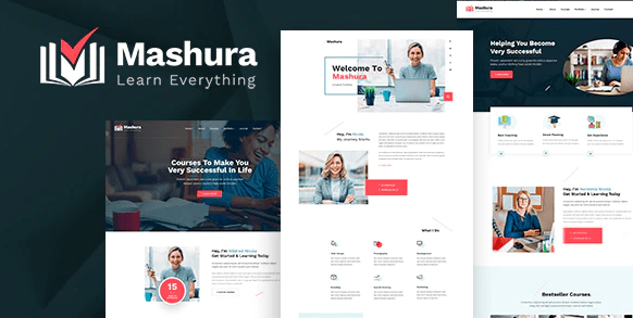 Mashura - LMS Education and Online Course Theme