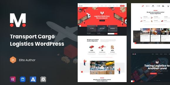 Movit - WordPress theme for transport delivery