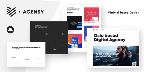 Agency - Digital Lab and Creative Solutions theme