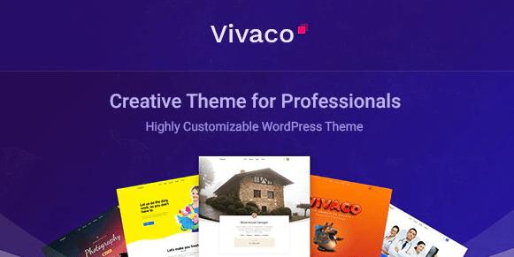 Vivaco - 多用途创意 WordPress 主题