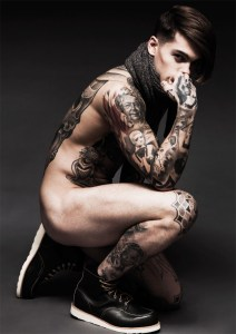 (NSFW)THE CRUSH: MODEL STEPHAN JAMES FOR HEDONIST MAGAZINE
