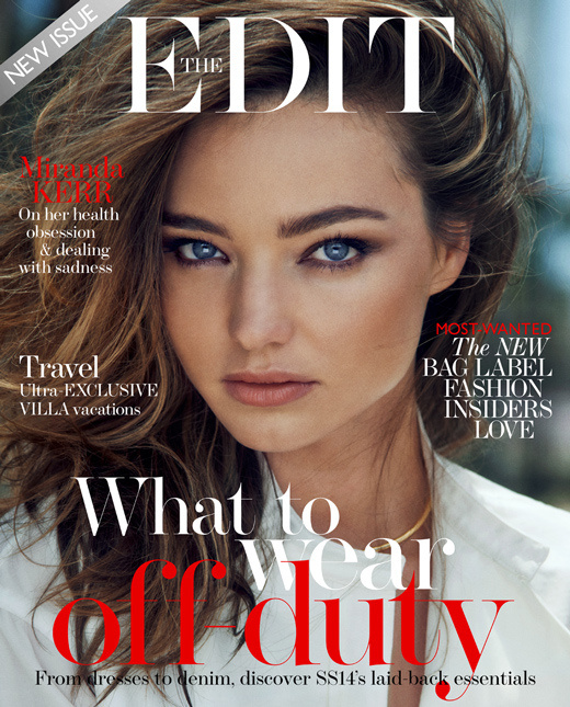 4969075477 Model Miranda Kerr looks simply divine in this rural meets biker babe  editorial for the June issue of The Edit magazine. Inside the pages, the  model-mommy ...