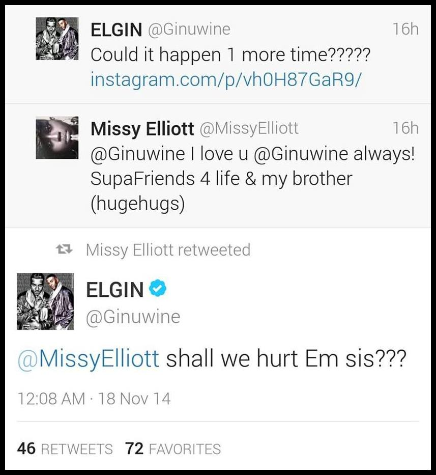Timbaland Teases Major Surprise w/Missy Elliott & Ginuwine/New Song