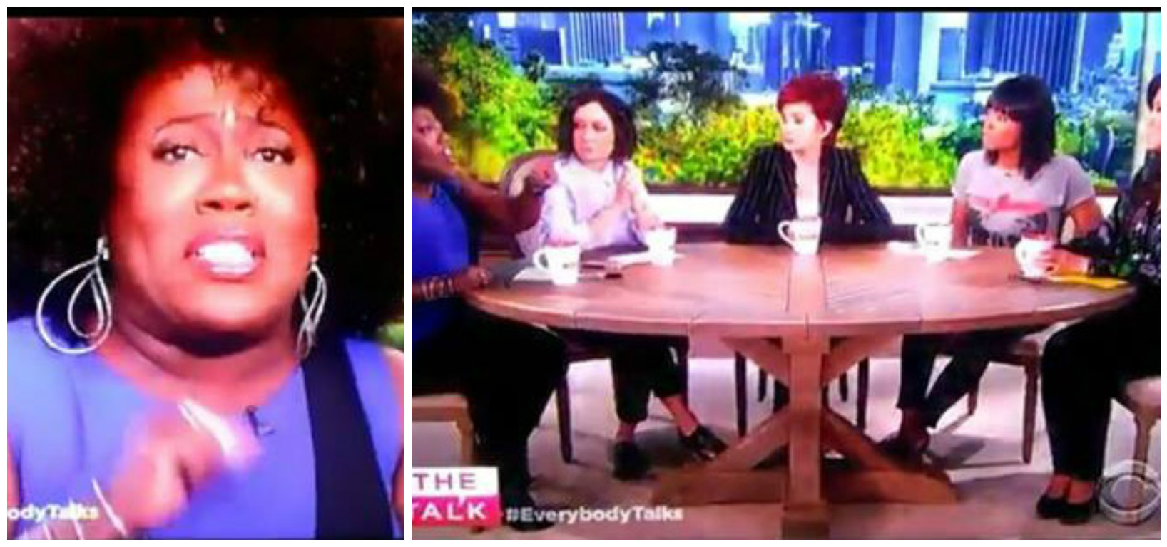 Must See Sheryl Underwood Goes All The Way Off On Her The Talk Co Hosts White America Over Ignoring Black Lives Being Taken By Police Video Jojocrews Com