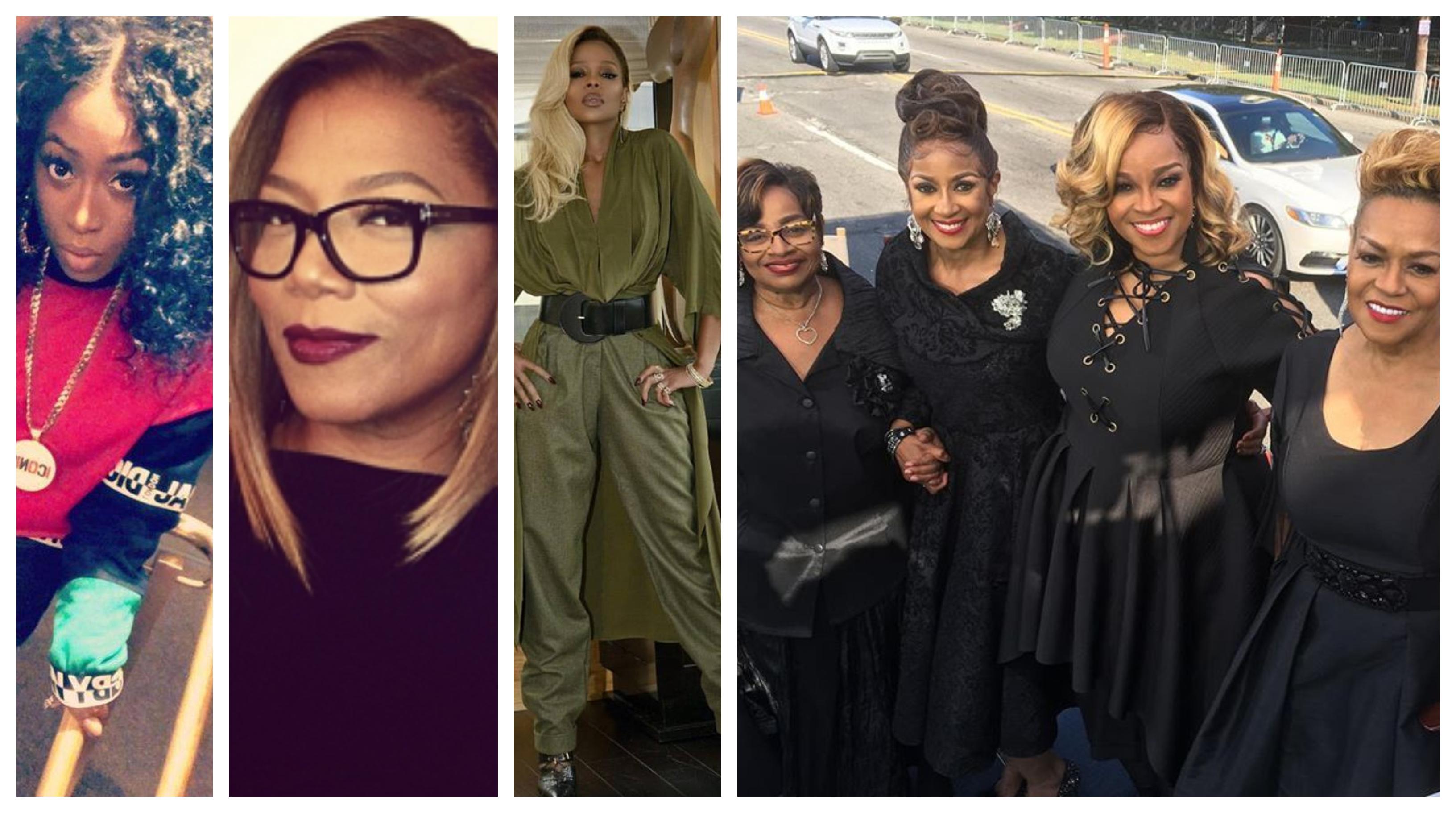 Missy Elliott, Queen Latifah & Mary J  Blige Set To Executive
