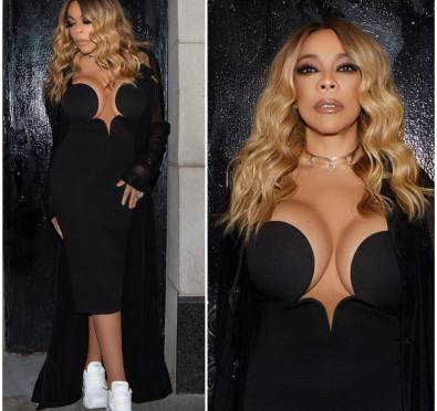 Alright Now! Single Wendy Williams Stepped Out To Kandi's 'Dungeon' Party In NYC and Looks Hella Good!