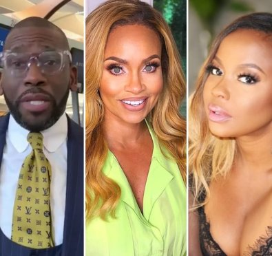"""Whew Chile! Phaedra Parks Throws Subtle Shade To Gizelle Bryant Over 'WWHL' Comments Re: Jamal Bryant Being """"Mr. Chocolate"""" [Pics/Video]"""