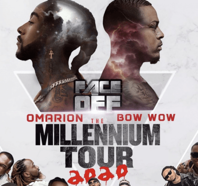 The Shade! Omarion Announces 'Millennium 2020 Tour' WITHOUT B2K on Fizz's Birthday, Adds Bow Wow, Sammie & More To Lineup