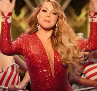 Mariah Carey Unveils New 'All I Want For Christmas Is You' Video After Claiming Billboard No. 1 Spot/Earning Her 19th No. 1 Hit