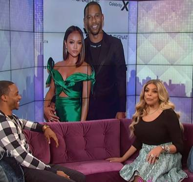 Watch: Victor Cruz Says He Wants To Marry & Have Kids with Karrueche Tran, Wendy Confuses Her with Cassie