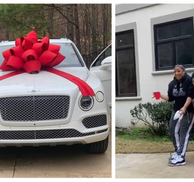 Love It: Entrepreneur Jesseca Dupart Confirms Relationship with Da Brat, Surprises Her Boo with Hers & Hers Bentley's For Her B-Day [Video/Pics]