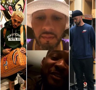 Usher Goes Live with Swizz Beatz, Says He's Down For 'Verzuz' with Chris Brown or Justin Timberlake [Video]
