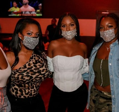 'RHOA' Newbie Latoya Ali aka Latoya Forever Begins Shooting with Cast For Season 13, Attends Todd Tucker's B-Day with Enclosed  Strippers [Photos]