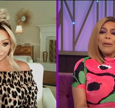 """Karen Huger Shades Gizelle Bryant's Beauty Line """"It's Liquidated""""+Throws More Effortless Shade at Her and Robyn Dixon on 'Wendy'[Video]"""