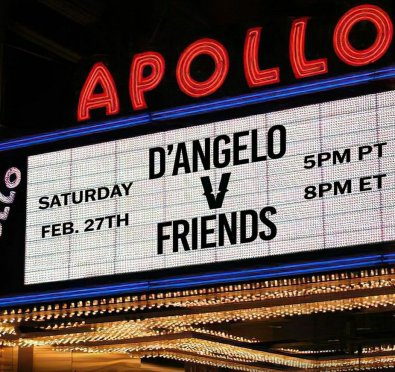 'Verzuz' Announces D'Angelo & Friends Live From The Legendary Apollo Theater