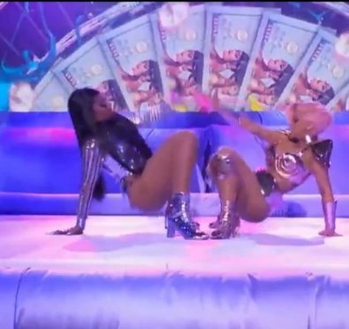 MUST SEE: Cardi B & Megan Thee Stallion Deliver EPIC 'Savage/Body/Up/WAP' Medley at 2021 Grammys [Full Performance]
